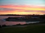 Sunset at Coggee Beach, Coastal Walk
