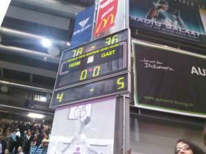 Bamberg vs. Trier - Ergebnis