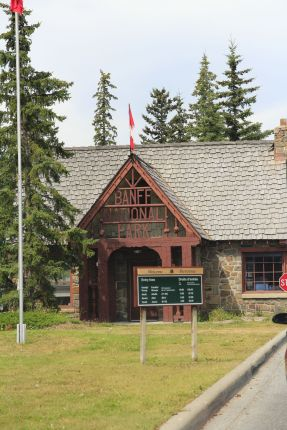 12 - entering Banff NP