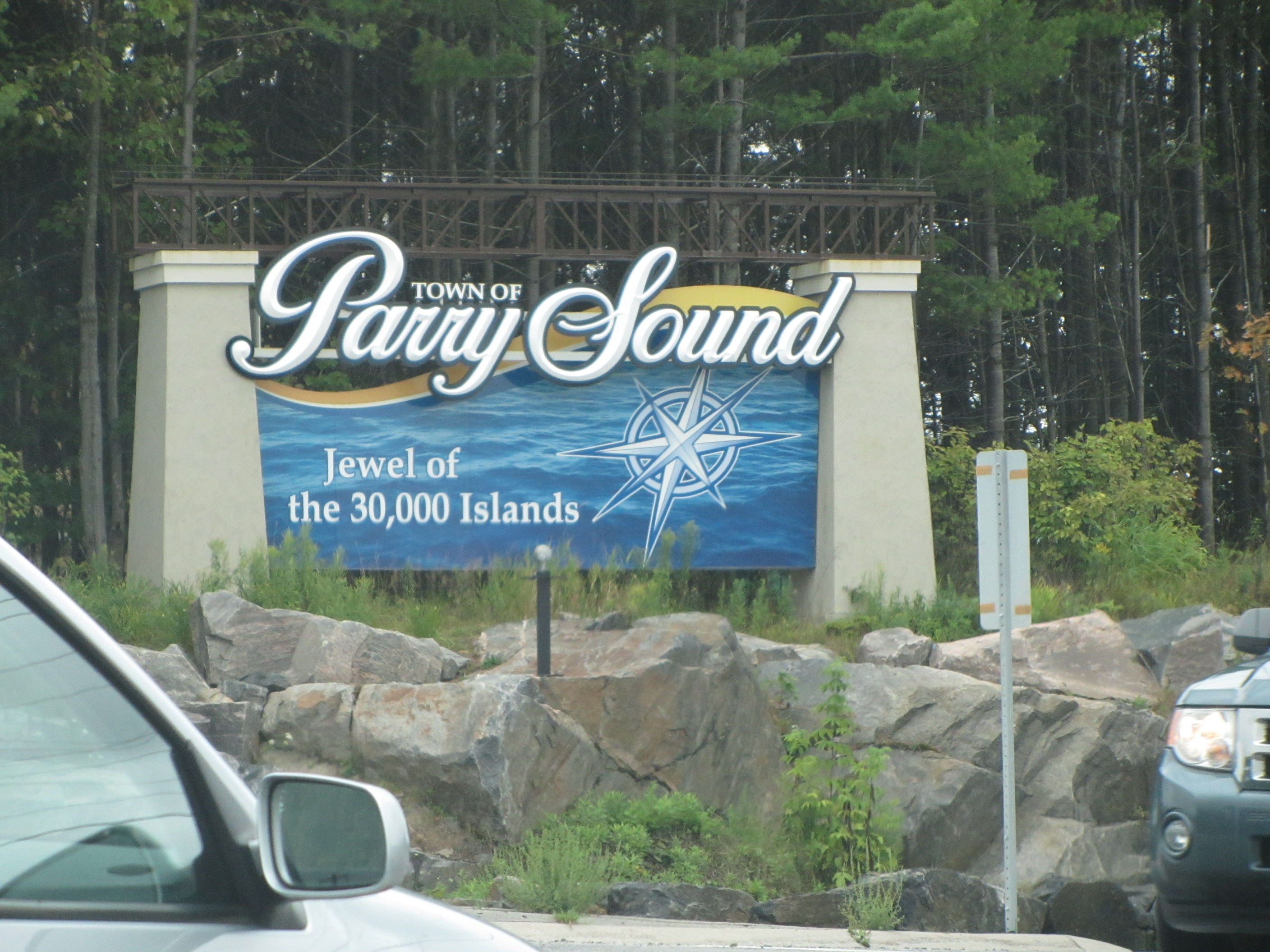 Parry Sound (ON) Canada  city photos gallery : ... Blue Jays, Yankees und Spikey. Canada, eh » 13 – Hi, Parry Sound