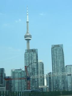 2 - erster Blick auf die Skyline vom Auto auf dem Weg ins Hotel