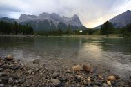 21 - Canmore River + Rockys