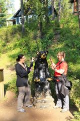 7 - Johnston Canyon - scary bear