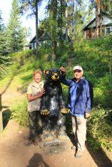 8 - Johnston Canyon - friendly bear