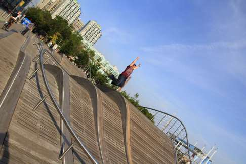 9 - jump 'the waterfront'