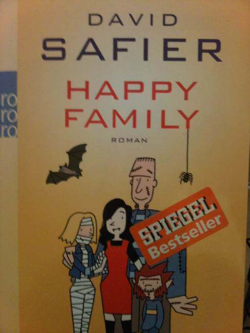 David Safier, Happy Family, Vorderseite