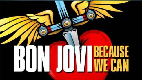 Bon Jovi Because We Can-Tour 2013