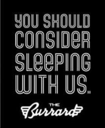 burrard - consider sleeping with us