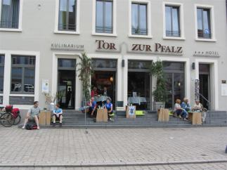 12 - Speyer, Cafe in FuZo