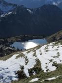 Idyllischer Bergsee.