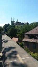 Blick auf das Kloster Michelsberg