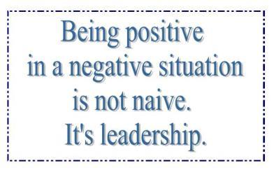 it's leadership