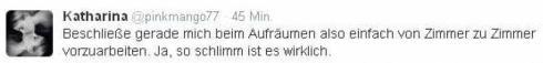Tweet Katha Unordnung