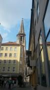 Seitenstraßen und der Dom
