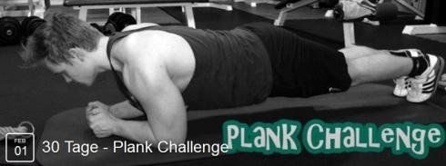 30 Tage Plank Challenge