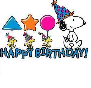 happy-birthday snoopy