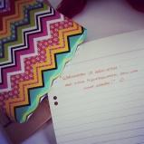 Kleine Überraschungspost fertig machen, kleinen Brief schreiben. Wird heute noch verschickt. Ich liebe das, liebe es, Menschen einfach so zu überraschen! ♥ #pmdd17 #surprisesurprise #post #überraschung #makesomeonesmile #brightenuponesday #seelengeschenk