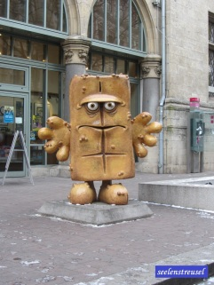Bernd, das Brot. KIKA lässt grüßen.