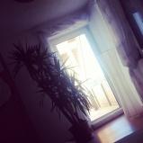 Morgen! Die Sonne scheint. Müde bin ich trotzdem ;) #pmdd18 #sonne #aufwachen