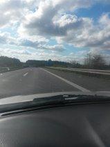 Auf dem Weg in die Herzstadt. #a73