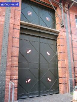 Fischauktionshalle Tür