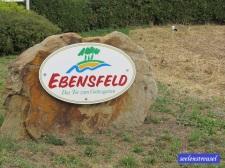 Ortseingang Ebensfeld