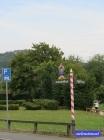 Ausblick auf den Staffelberg vom Friedhof aus - ob ich da mal entlang wandere? lasst Euch überraschen.