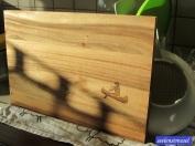 Schatten in der Küche.