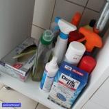 Weiter geht's ins Bad (und nein, das ist nicht meine Zahnbürste zum Zähne putzen, die ist für Dreck wegmachen).