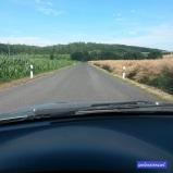 Grün und Dürre auf dem Weg zur Family. #pmdd21 #auto #cruisen #landschaft #sommerhitze #immernochüber30grad