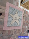 Walkway of the stars.